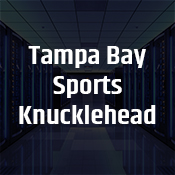 """tampa bay sports knucklehead"""