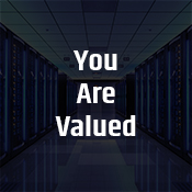 """you are valued"""