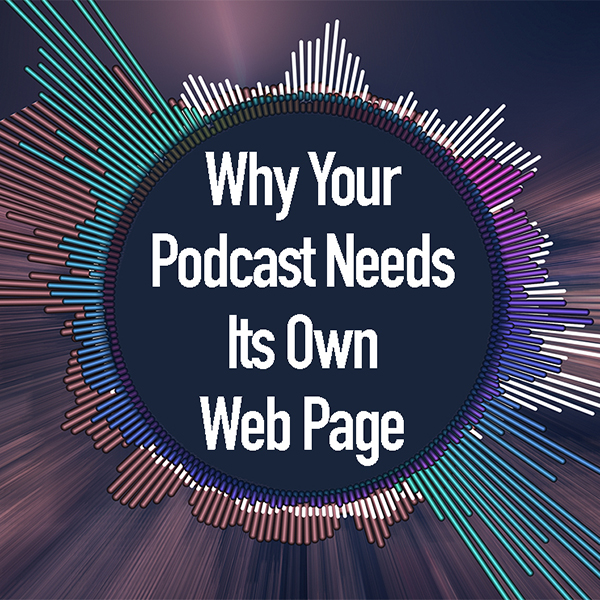 """podcast on your own web page"""